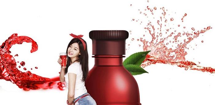 Nước Pha rượu Hongcho Hàn Quốc hương phúc bồn tử (500ml)