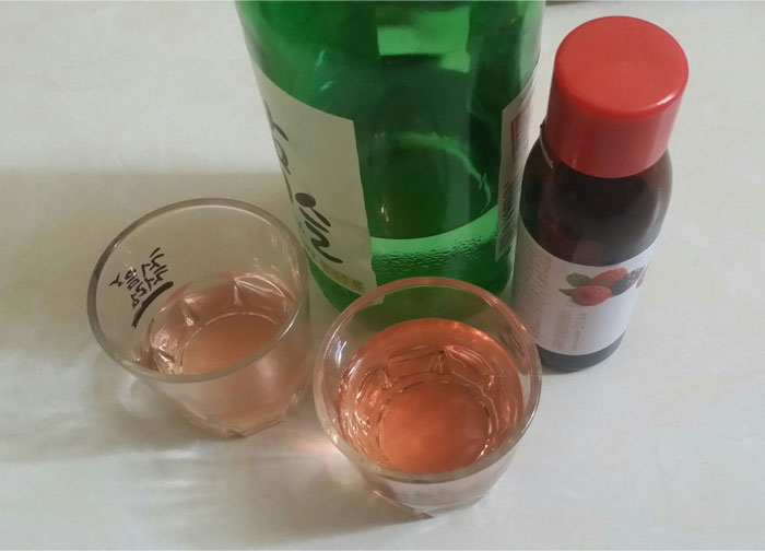 Nước pha rượu Hongcho hương phúc bồn tử 50ml