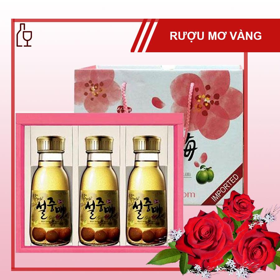 Set Qua Ruou Mo Vang