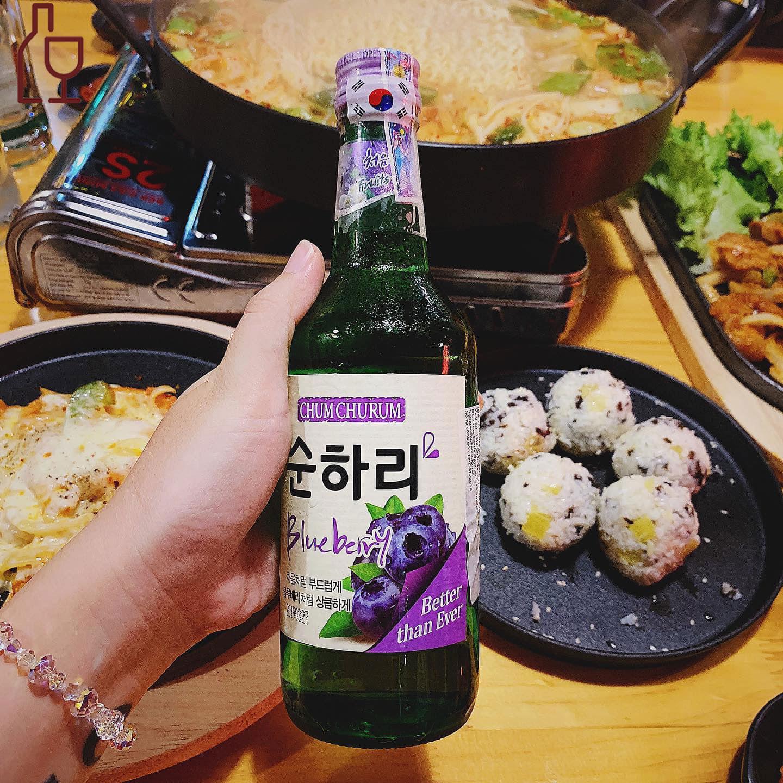 Rượu soju việt quất - Giá tốt nhất tại Rượu Hàn Quốc